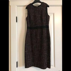Talbots size 4 wool tweed dress